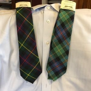 Other - Clan Farquharson set of 2 ties new from Scotland